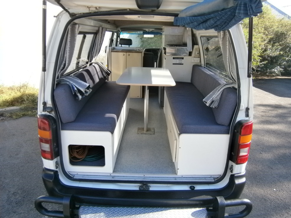 Toyota Hiace Ex Rental Campervan For Sale Used Campervan