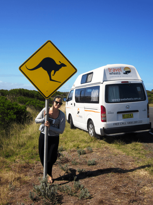 On Tour mit dem Campervan in Australien
