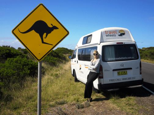 Travelwheels Campervanvermietung Australien