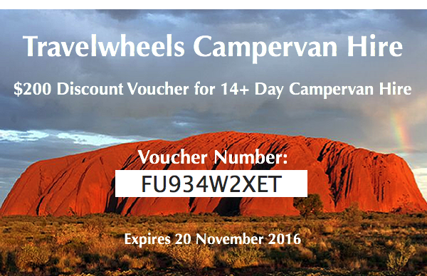 Travelwheels $200 Voucher