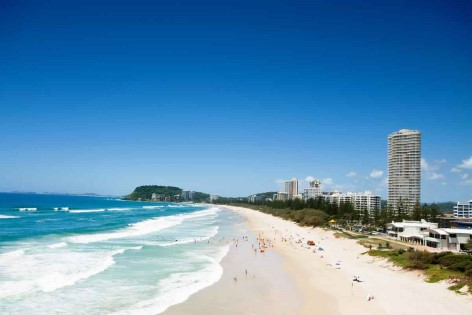 Gold Coast von Burleigh Heads