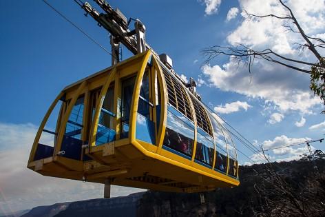 Mit der Skyrail über die Blue Mountains