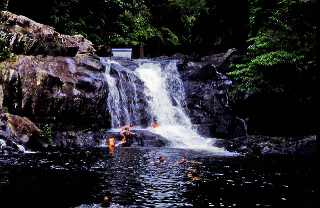 Crystal Cascades - waterfalls and natural fresh water pools
