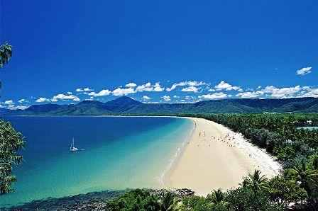 4 Mile Beach in Port Douglas - Cairns und Umgebung