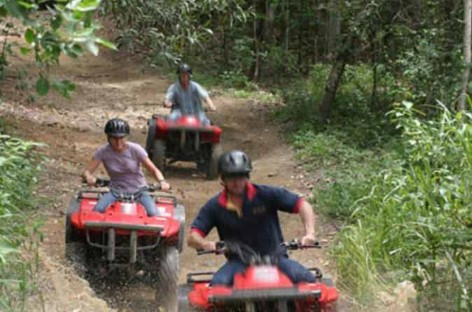 Quad Biking in Cairns Rainforest
