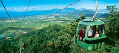 Cairns road trip planner - Kuranda Cableway