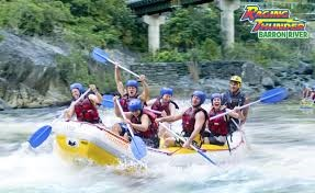 Racing Thunder - White Water Rafting im Barron River