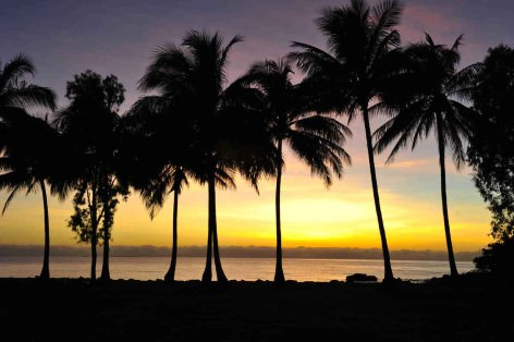 Port Douglas Sonnenuntergang