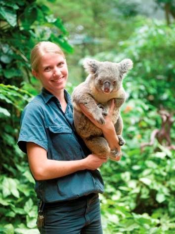 Lone Pine Koala Sanctuary seit 1927 - Hier kann man mit Koalas schmusen
