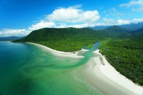 Die besten Nationalparks in Australien -Daintree River