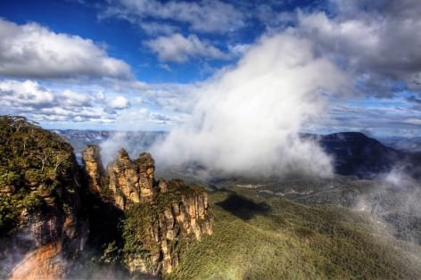 Blue Mountains Nationalpark - Echo Point Lookout