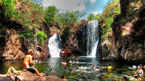 Florence Falls - Litchfieldpark