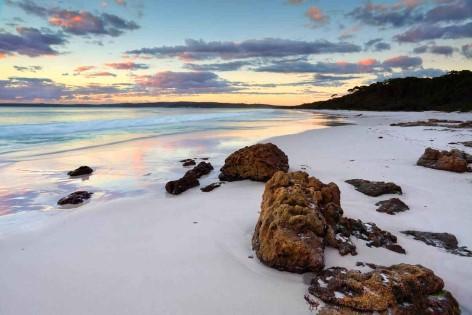 Jervis Bay - Hyams Beach steht im Guinnessbuch der Rekorde