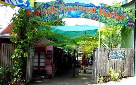 Kuranda Rainforest Markt