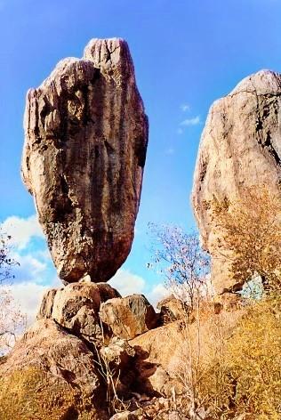Der Balancing Rock- Ein wahres Wunder