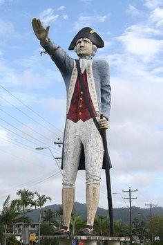 Der riesige Captain Hook gehört zu den Giganten Australiens