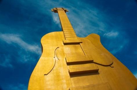 Die Goldene Gitarre, ein Symbol für australische Country Musik
