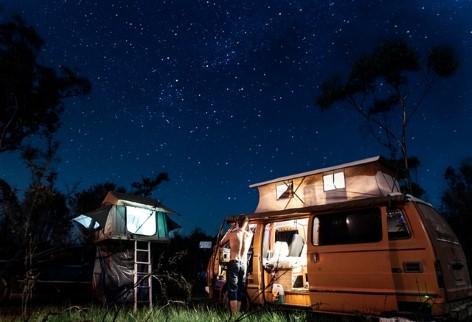 Campen ist die beliebteste Art zu reisen in Australien