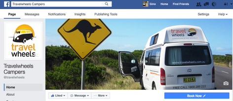 Travelwheels Bewertung auf Facebook