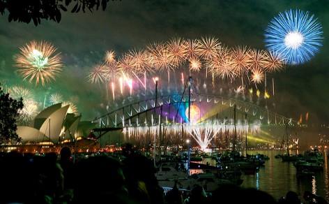 Silvester in Sydney gehört zu den besten Festivals in Australien