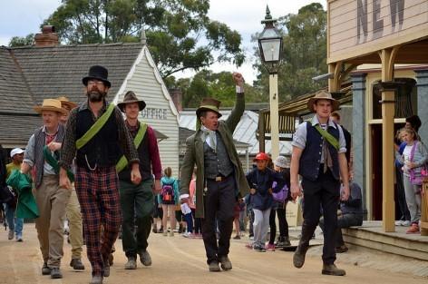 Ballarat - Die Goldbergbaugemeinde