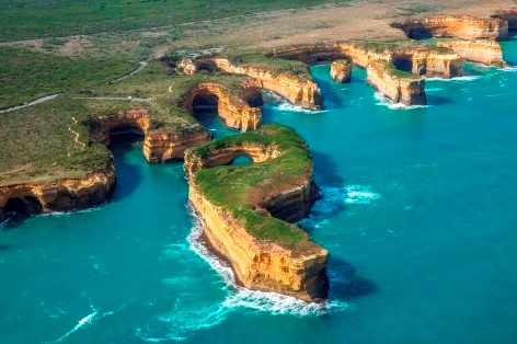Great Ocean Road Tour mit einem Helikopter