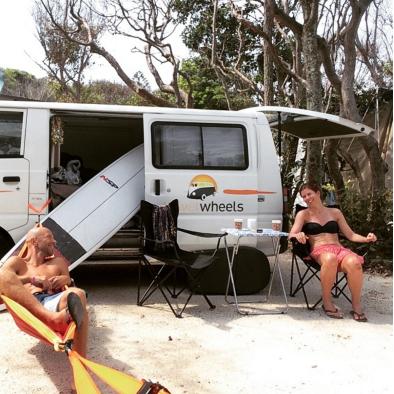 Instagram: Thomashukken war entspannt in Byron Bay & hat sogar Platz für sein Surfbrett gehabt