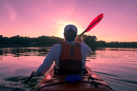 Kayak fahren ist eine der tollen Aktivitäten im Grampians Nationalpark