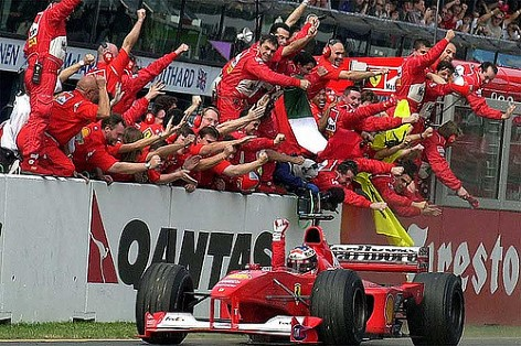 Grand Prix in Melbourne - Michael Schuhmacher war 5-facher Sieger!