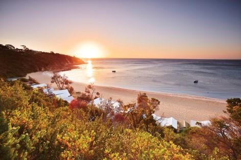 Mornington Beach könnte der erst Stopp auf deiner Reise von Melbourne nach Phillip Island sein