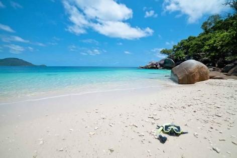 Kostenloser Reiseführer Tipp: Seidenweicher Sand auf Fitzroy Island