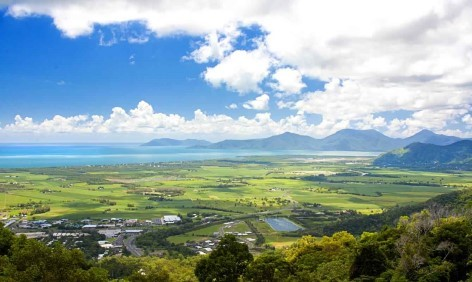 Kuranda Lookout über die Atherton Tablelands