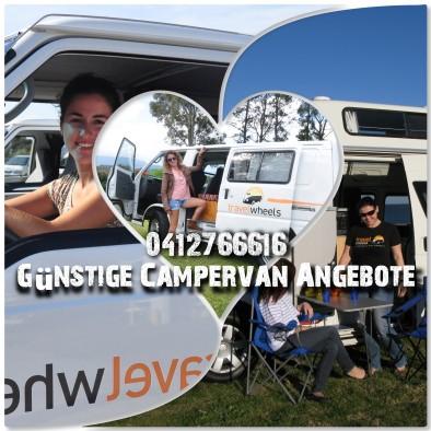 Günstige Campervanangebote von Melbourne nach Sydney mit Travelwheels