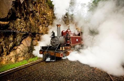 Walhalla Goldfields Railway - Spring auf und unternimm eine Vergnügungsfahrt durch das Hinterland der alten Goldbergwerkgemeinde!